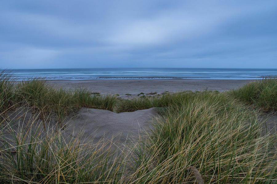 Dusk on Nehalem Beach, OR by Jedediah Hohf