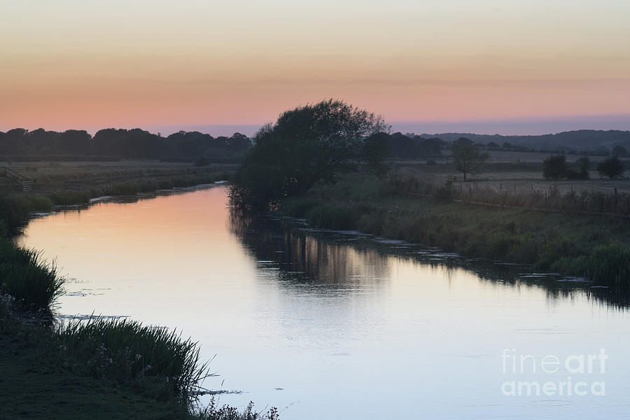 Dusk on the River Rother by Perry Rodriguez