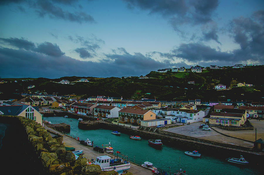 Dusk over Portreath by Edyta K Photography