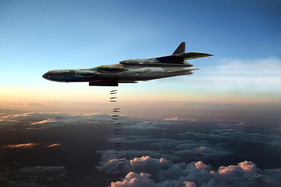 B52 Stratofortress  Carpet Bombing