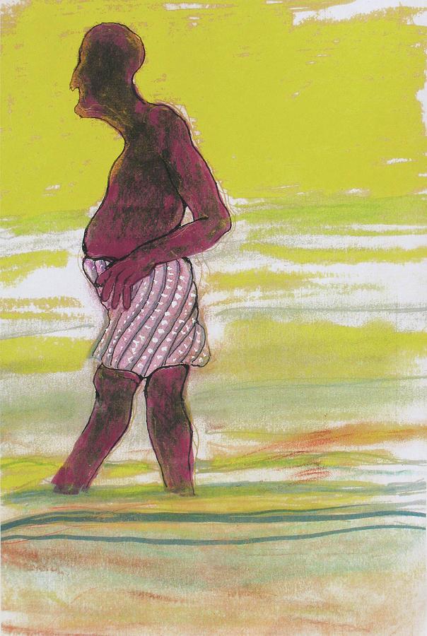 Dusk Drawing - Dusk by Walter Clark