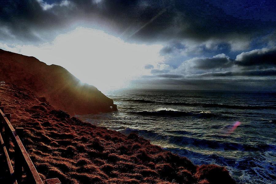 Seascape Photograph - Dusky by Image Cornais