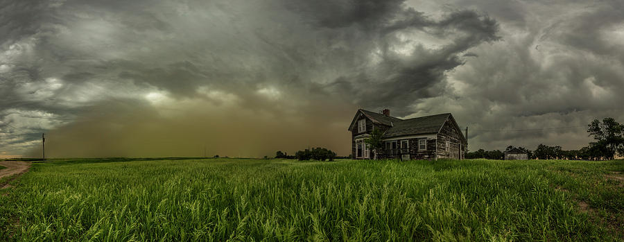 Front Photograph - Dust In The Wind  by Aaron J Groen