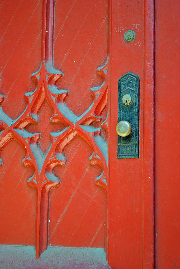 Baltimore Photograph - Dust Of The Red Door by Jost Houk