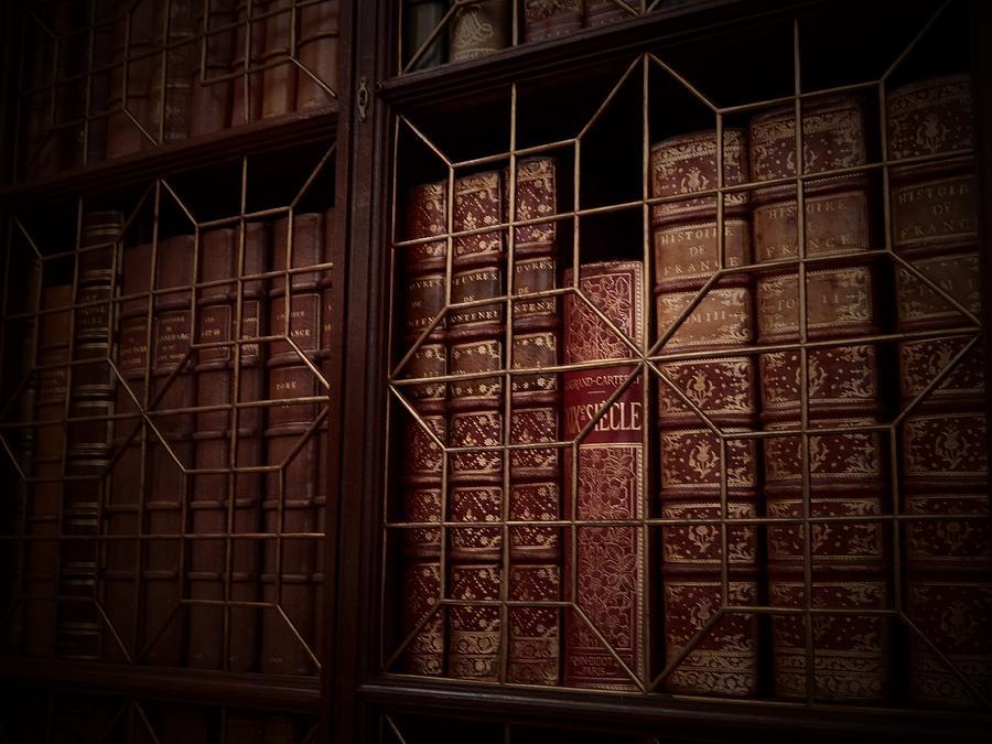 Dusty Bookshelf