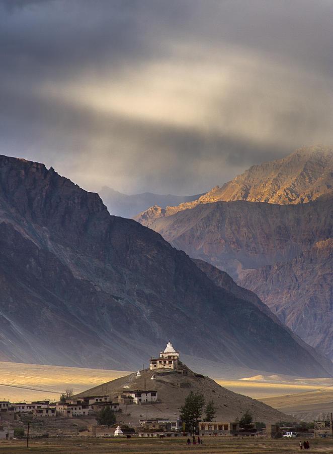 Ladakh Photograph - Dusty Evening by Hitendra SINKAR