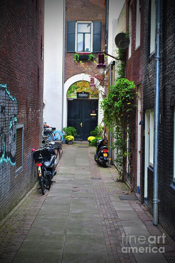 Amsterdam Photograph - Dutch Alley by Jost Houk