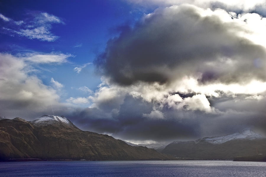 Landscape Photograph - Dutch Harbor by Wes Shinn