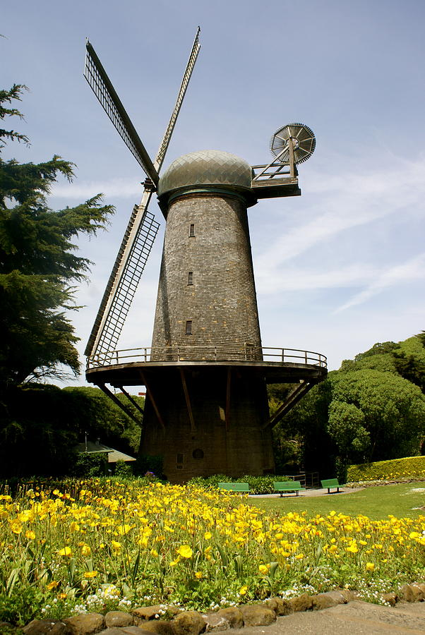 Windmill Photograph - Dutch Windmill by Sonja Anderson