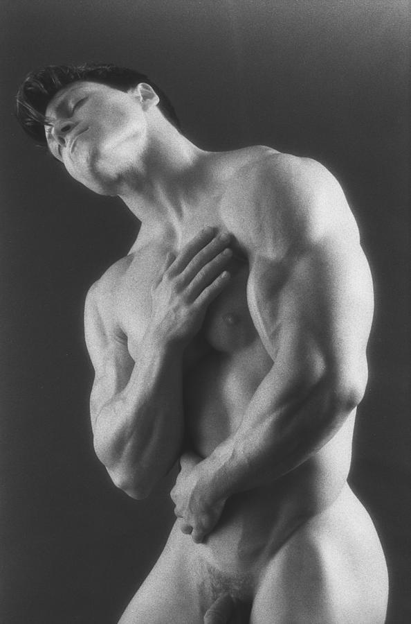 Male Nudes Photograph - Dwain Leland 5 by Thomas Mitchell
