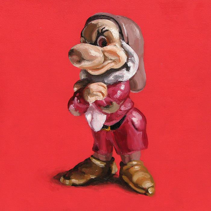 Dwarf Painting - Dwarf by Lucia Rodriguez