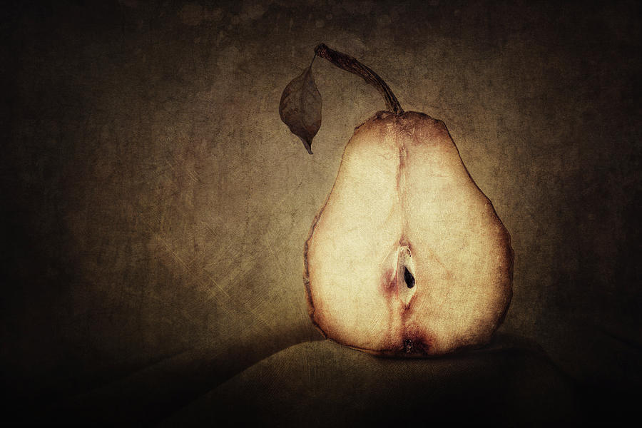 Pear Photograph - Dying Inside by Amy Weiss