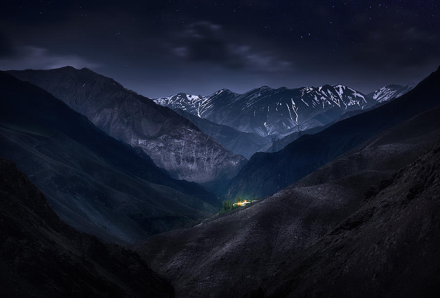 Iran Photograph - Dying of the Light by Mohsen Kamalzadeh