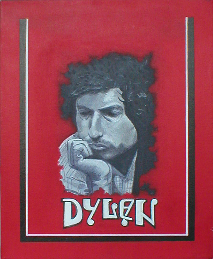 Bob Dylan Painting - Dylan by Jimmy  Ovadia