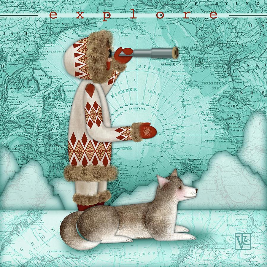 E is for Eskimo and Explorer by Valerie Drake Lesiak