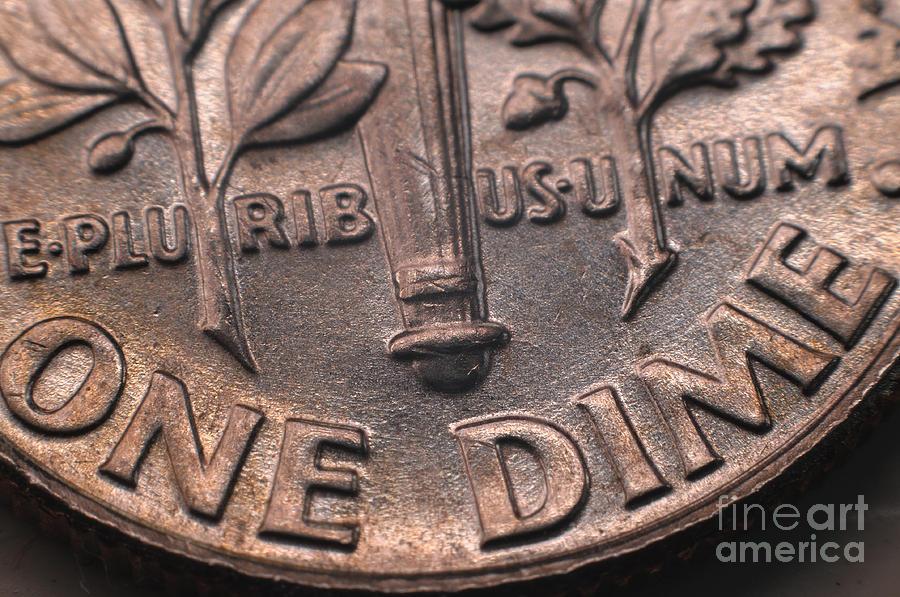 Money Photograph - E-pluribus-unum by Miguel Celis