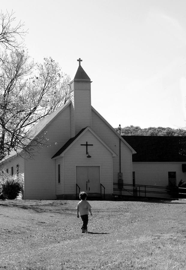 E-to-the-church Photograph by Curtis J Neeley Jr
