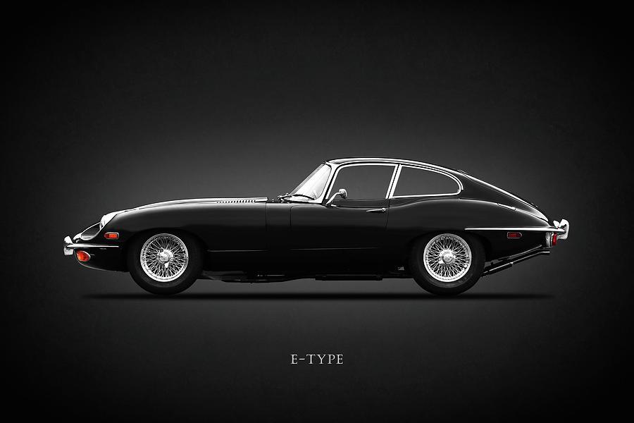 Jaguar Photograph - E-type 69 by Mark Rogan