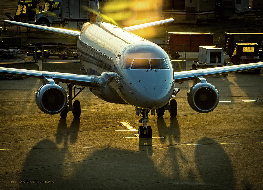 Embraer Photograph - E175 by Philip Rispin
