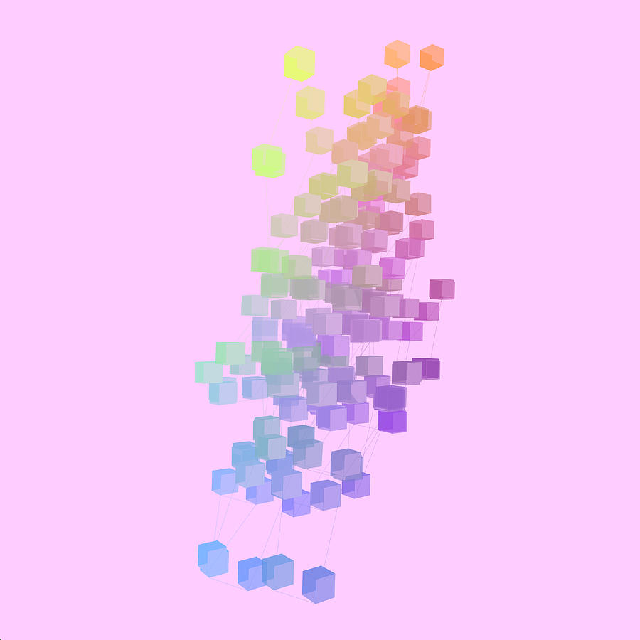 Procedural Digital Art - E43oducandxyrzjk87jlaobp3kkve6nz by Joseph Pollack