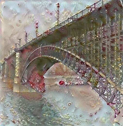 Eads Bridge by Gerry Morgan