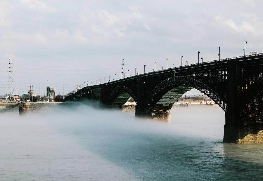 Saint Louis Photograph - Eads Bridge St. Louis Missouri by Dylan Murphy