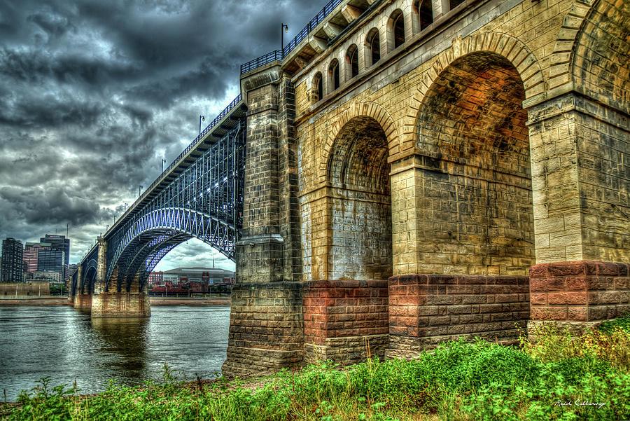 Eads Bridge St Louis Missouri Bridge Construction Art Photograph