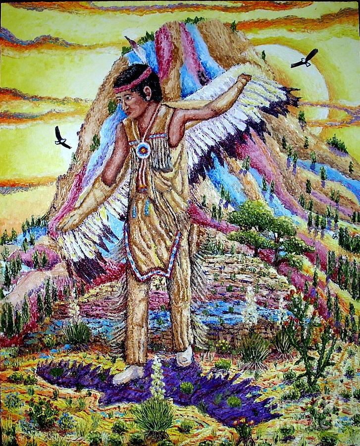 EAGLE DANCER by SANTIAGO CHAVEZ