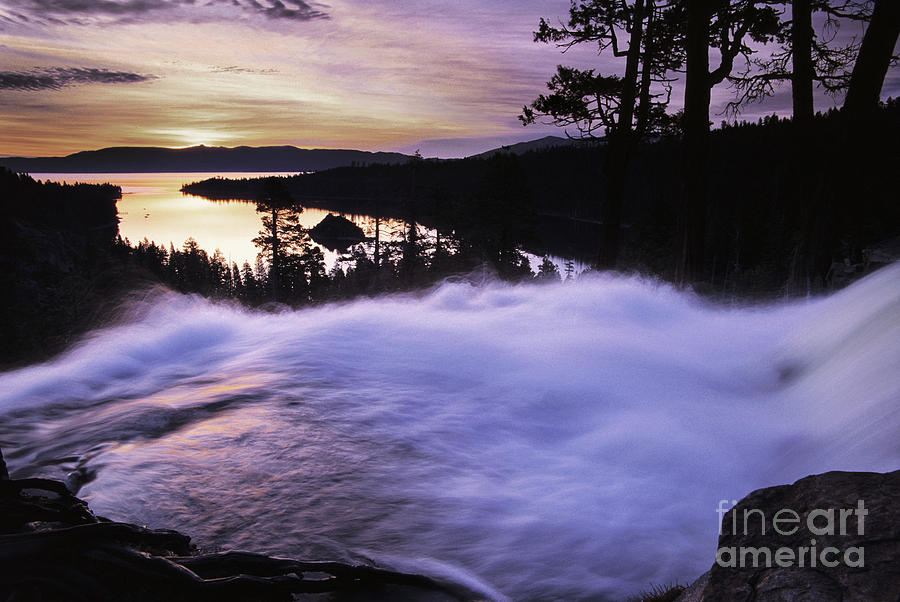 Eagle Falls Photograph - Eagle Falls Morning by Buck Forester