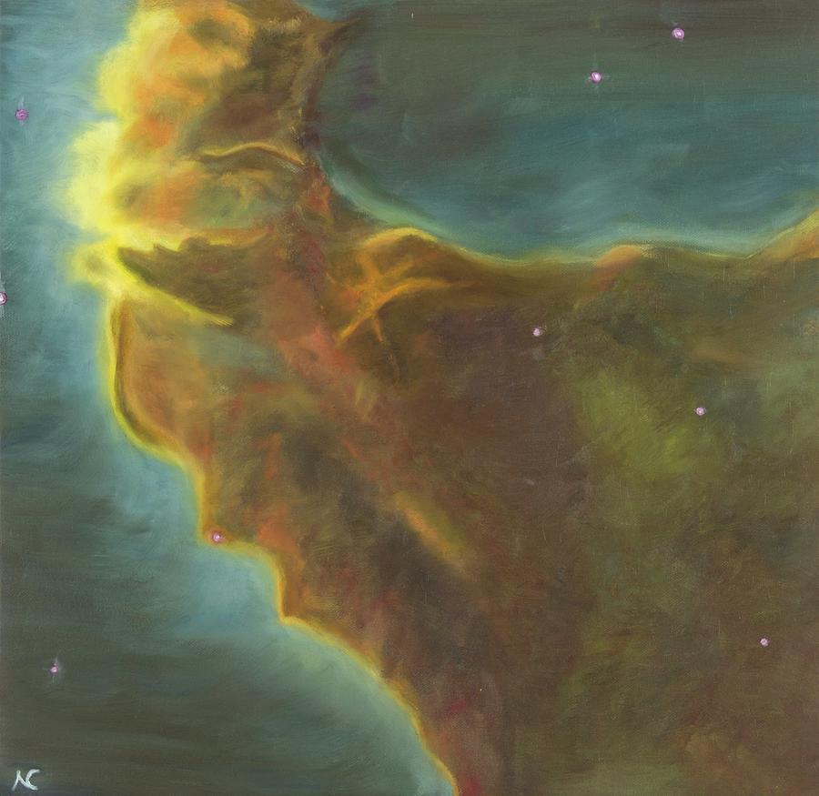 Eagle Nebula by Neslihan Ergul Colley
