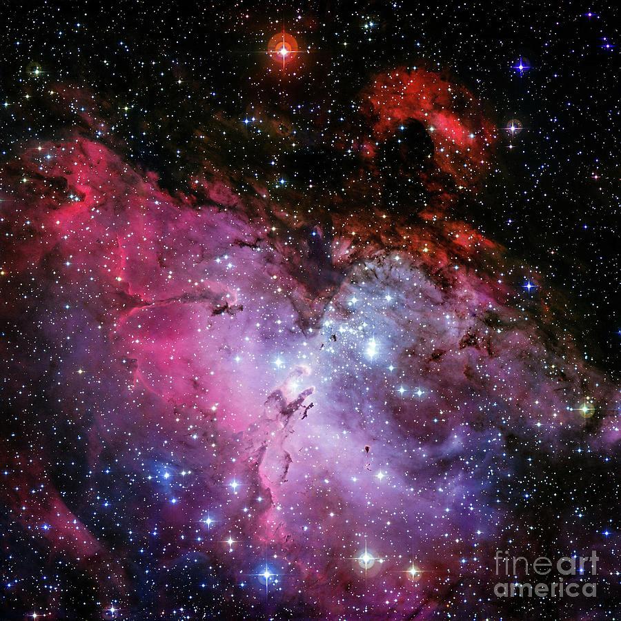 Eagle Nebular Photograph