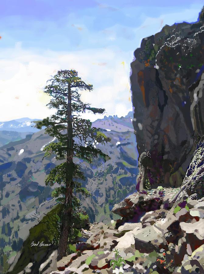 Eagle Peak Painting
