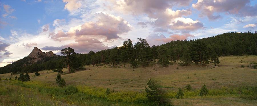 Colorado Photograph - Eagle Rock Estes Park Colorado by Heather Coen