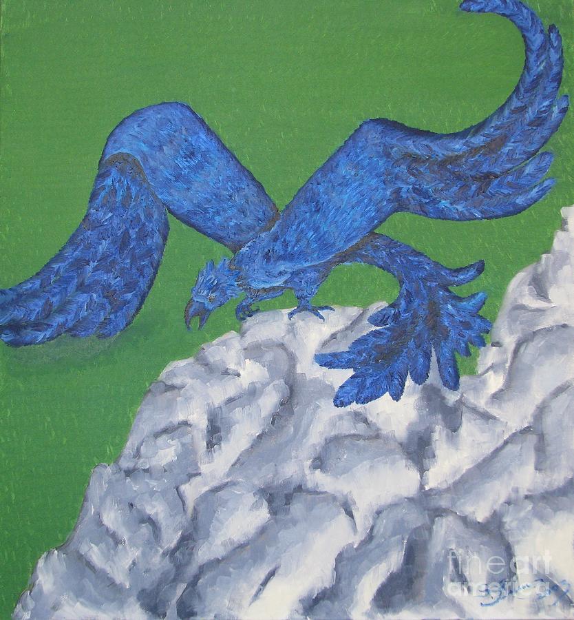 Oil Painting Painting - Eagle by Svetlana Vinokurtsev