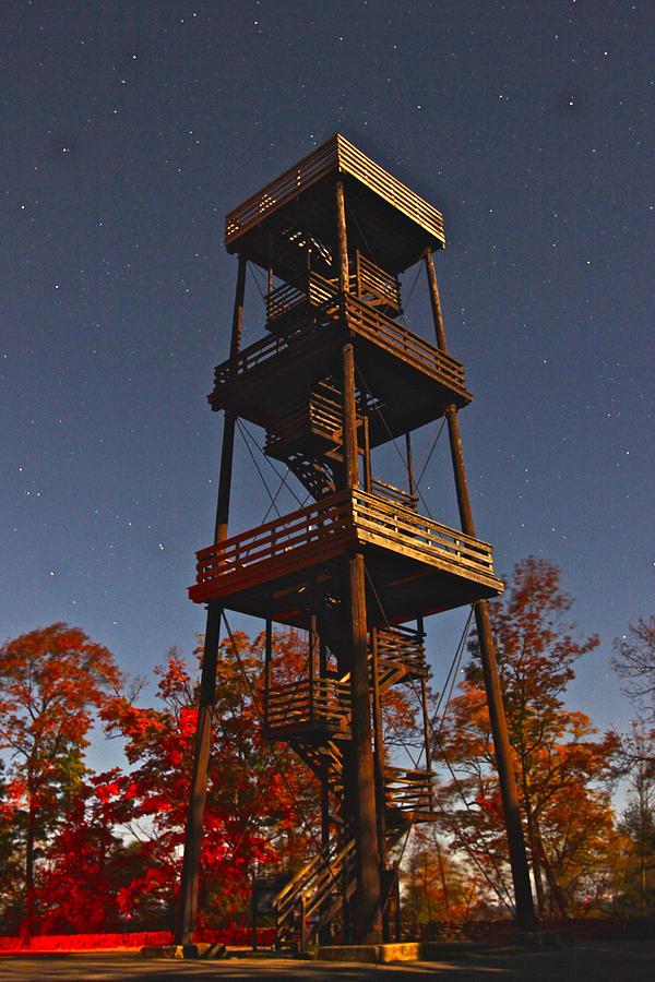 Eagle Tower in the Moonlight by Jon Reddin