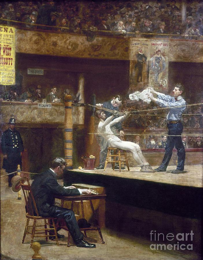 1899 Photograph - Eakins: Between Rounds by Granger