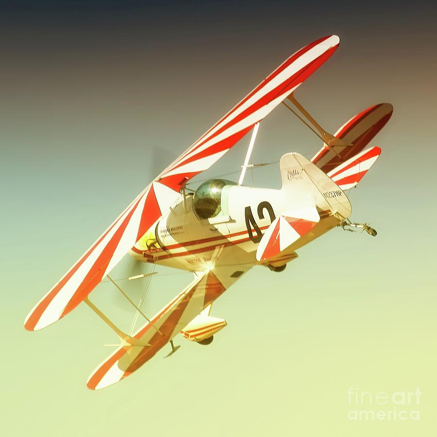 Airplane Photograph - Earl Allen And Pitts Race 42 The Other Woman by Gus McCrea