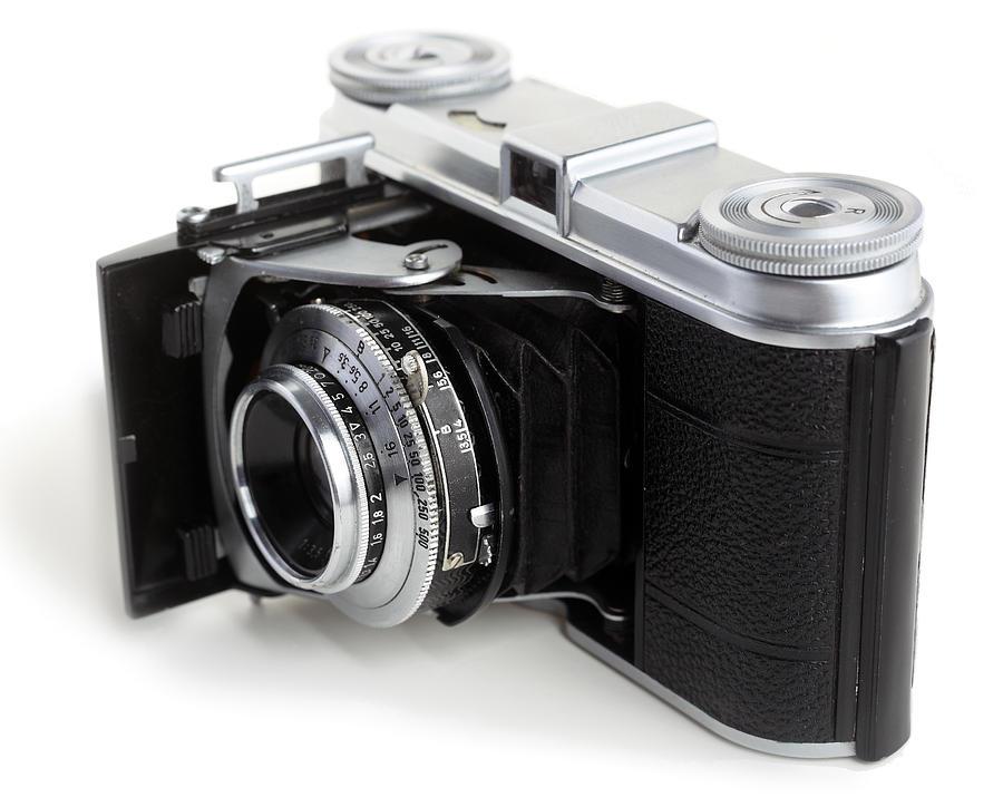 Equipment Photograph - Early 35mm Film Camera by Paul Cowan