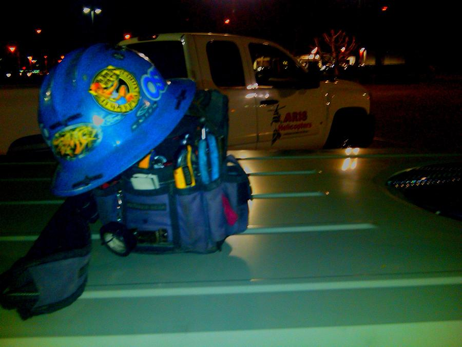 Tools Photograph - Early Am Ac Bag Of Mine. by Douglas Kriezel