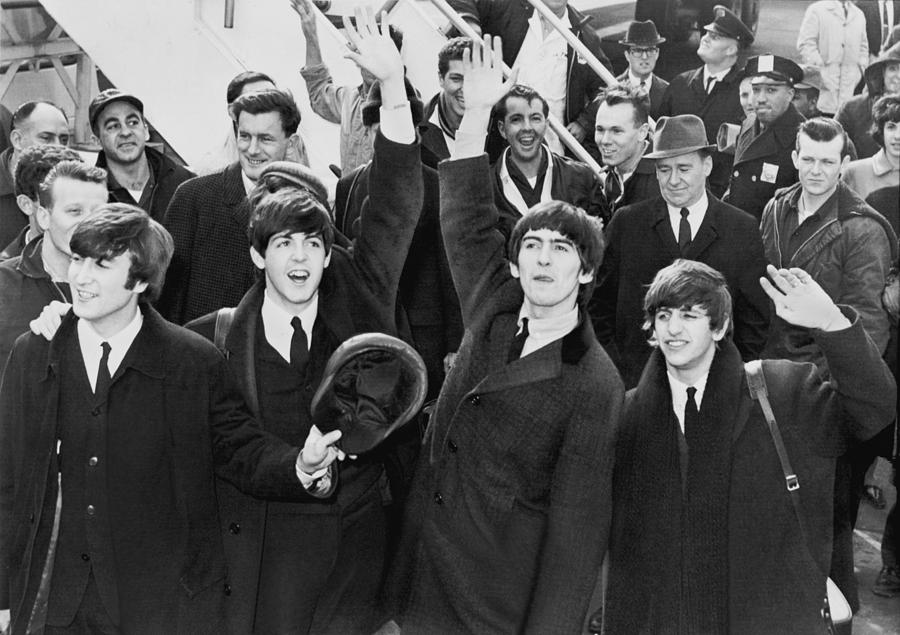 Album Cover Photograph - Early Beatles Publicity Photo by Georgia Fowler