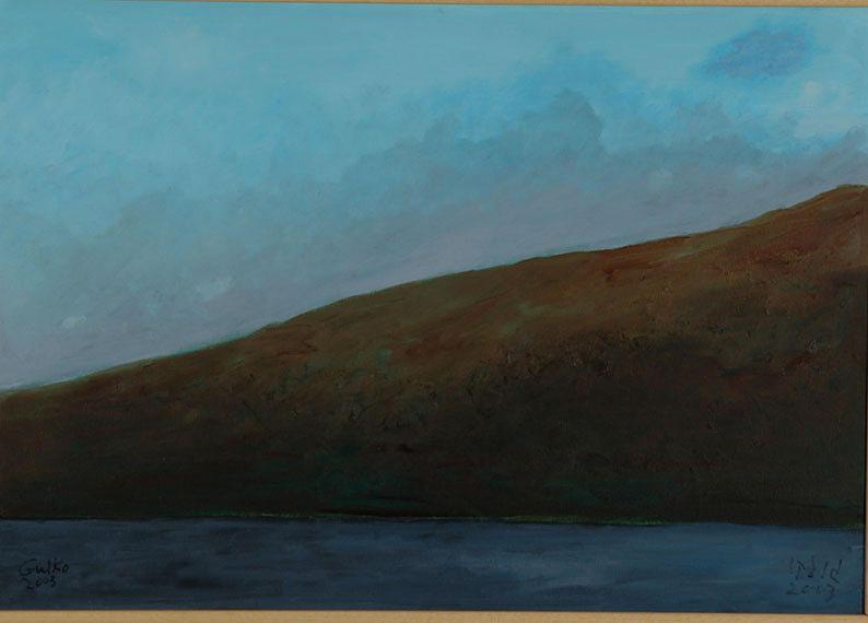 Early Dawn Painting by Harris Gulko