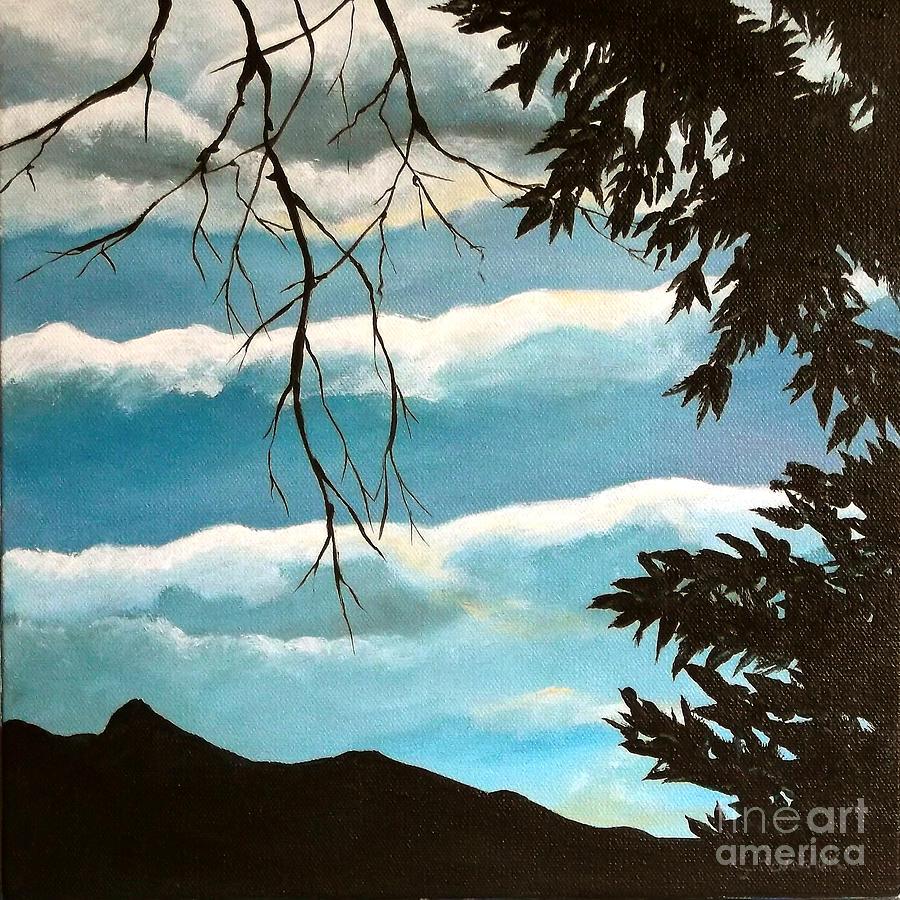 Sky Painting - Early Evening I by Carol Kovalchuk