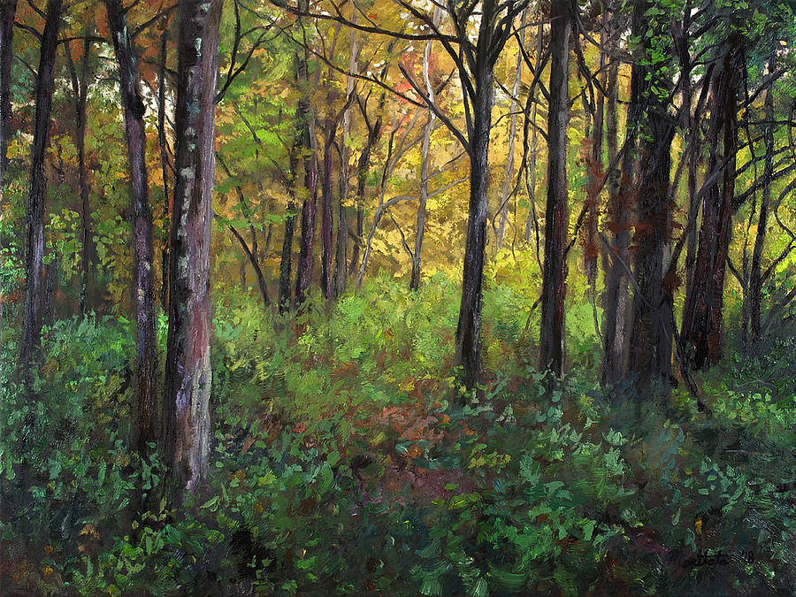 Early Fall Painting