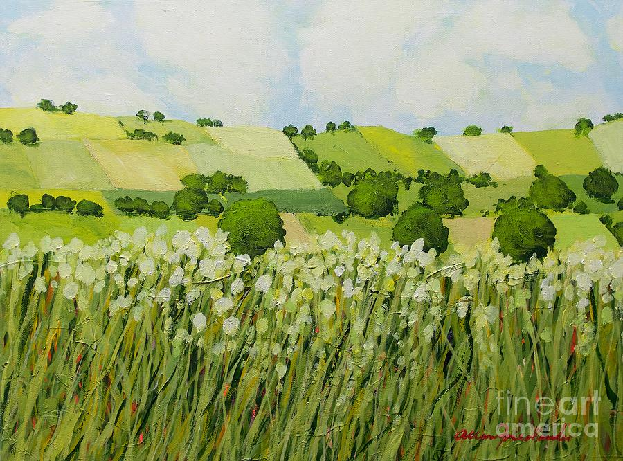Early Grass Painting