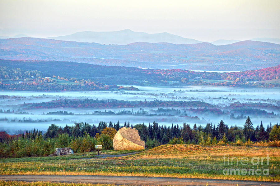 Vermont Photograph - Early Morning At Sentinel Rock by Catherine Sherman