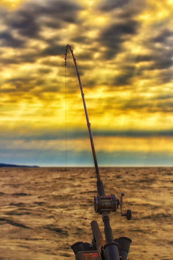 Lake Superior Photograph - Early Morning Bite by Bill Tiepelman