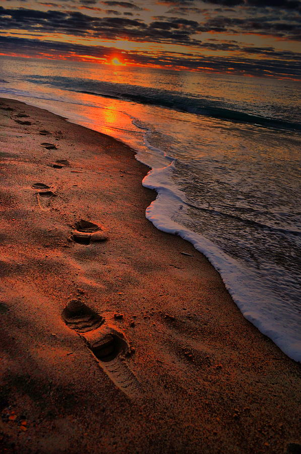 Beach Photograph - Early Morning by Emily Stauring