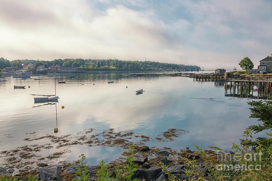 Early Morning In Bernard Maine Photograph