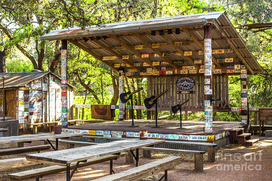 Early Morning In Luckenbach Photograph