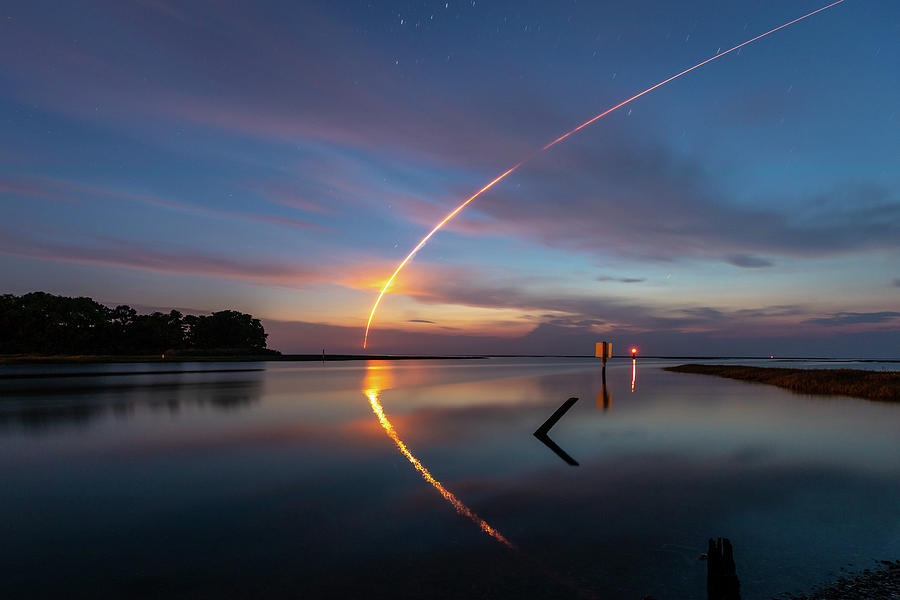 Early Morning Launch Photograph